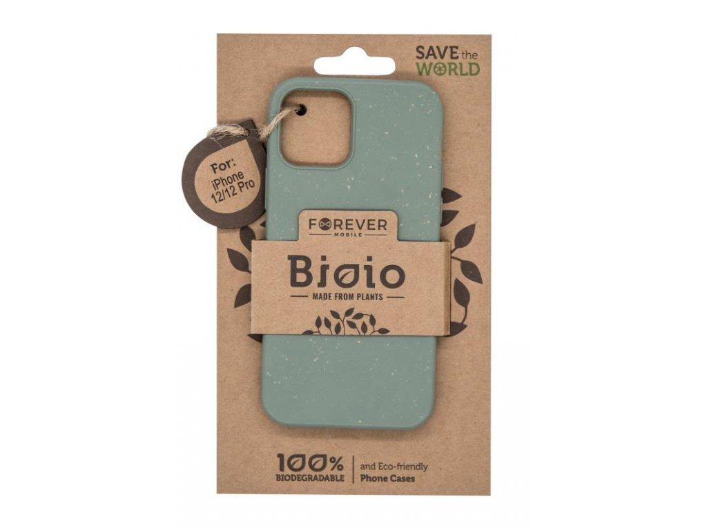 """Zadní kryt Forever Bioio pro Apple iPhone 12/iPhone 12 Pro (6.1"""") zelený"""