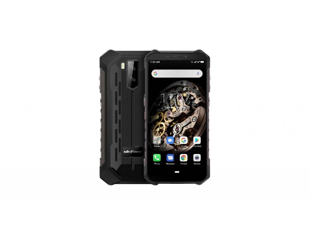 UleFone Armor X5 2020 DS 3+32GB gsm tel. Black