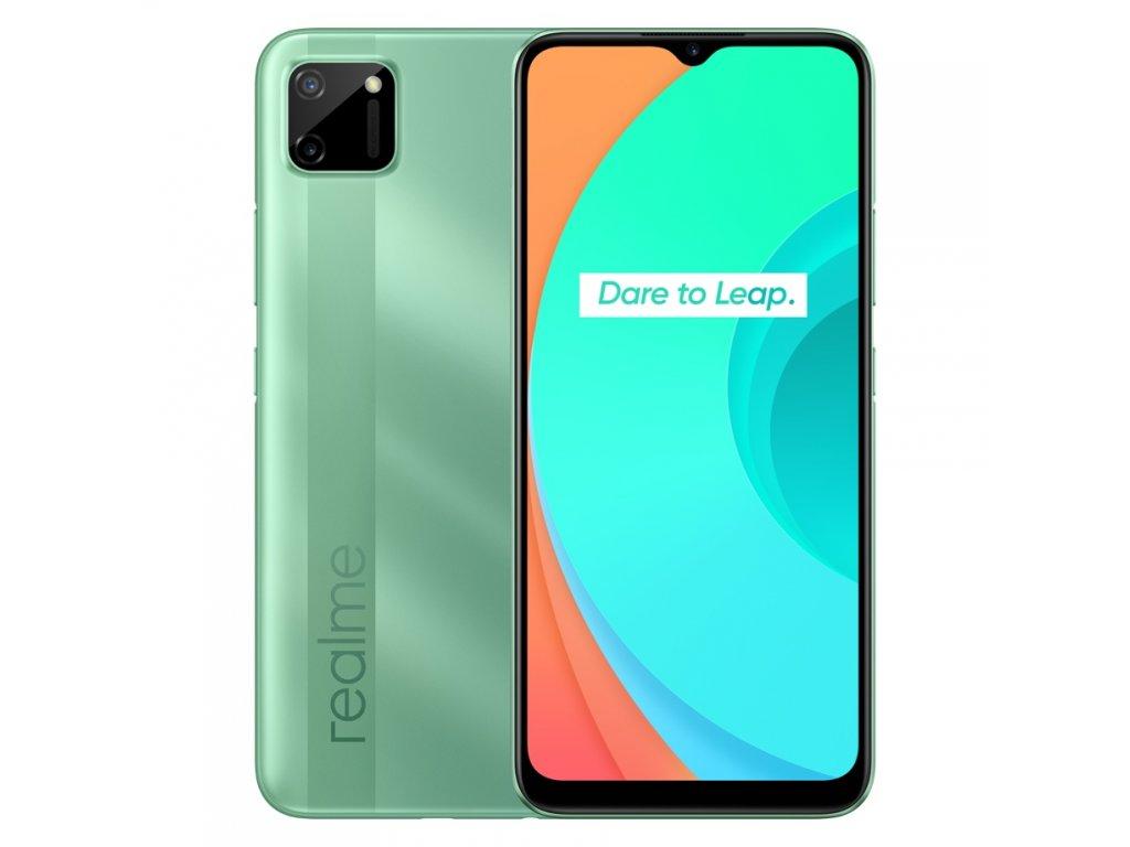 Realme C11 DualSIM 3+32GB gsm tel. Mint Green