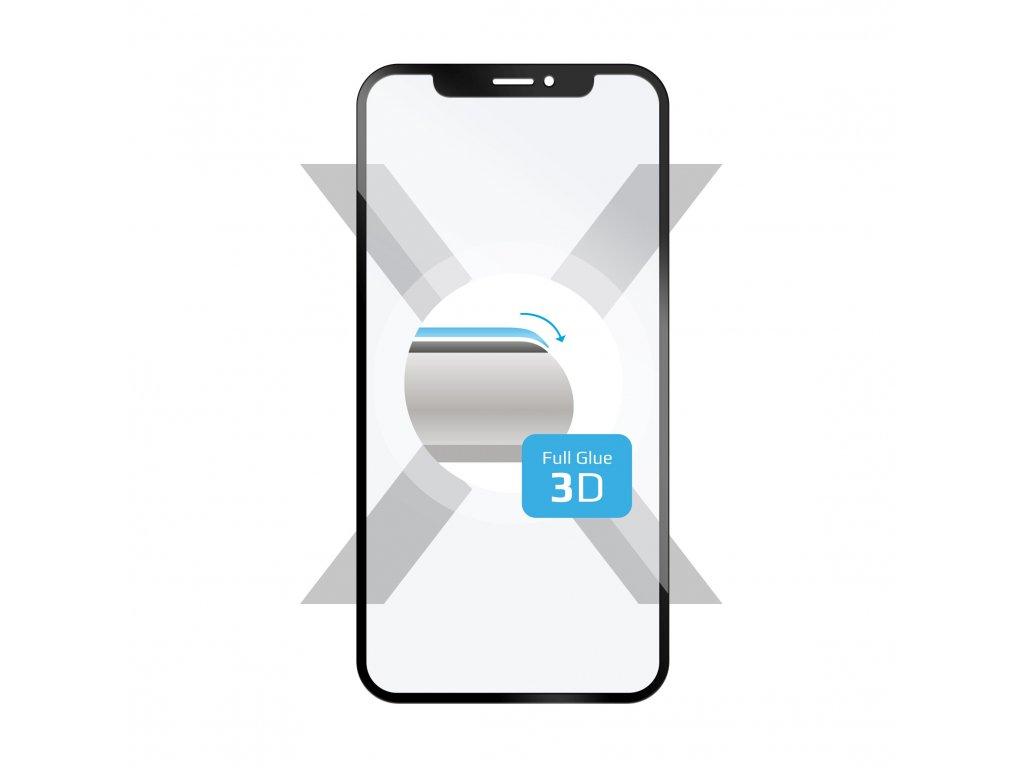 Ochranné tvrzené sklo FIXED 3D Full-Cover pro Huawei Y7 Prime (2018), s lepením přes celý displej, černé