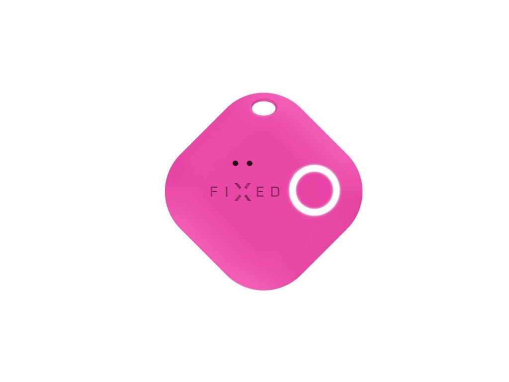 Smart tracker FIXED Smile s motion senzorem, růžový