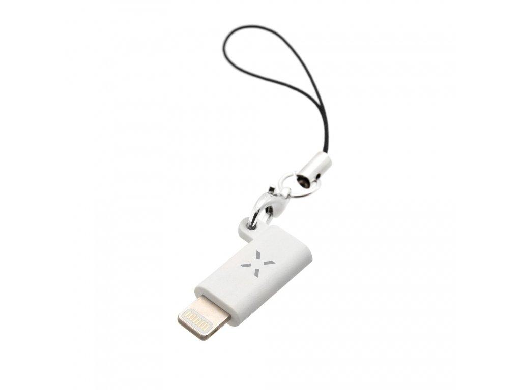 Redukce FIXED Link z USB-C na Lightning, bílá