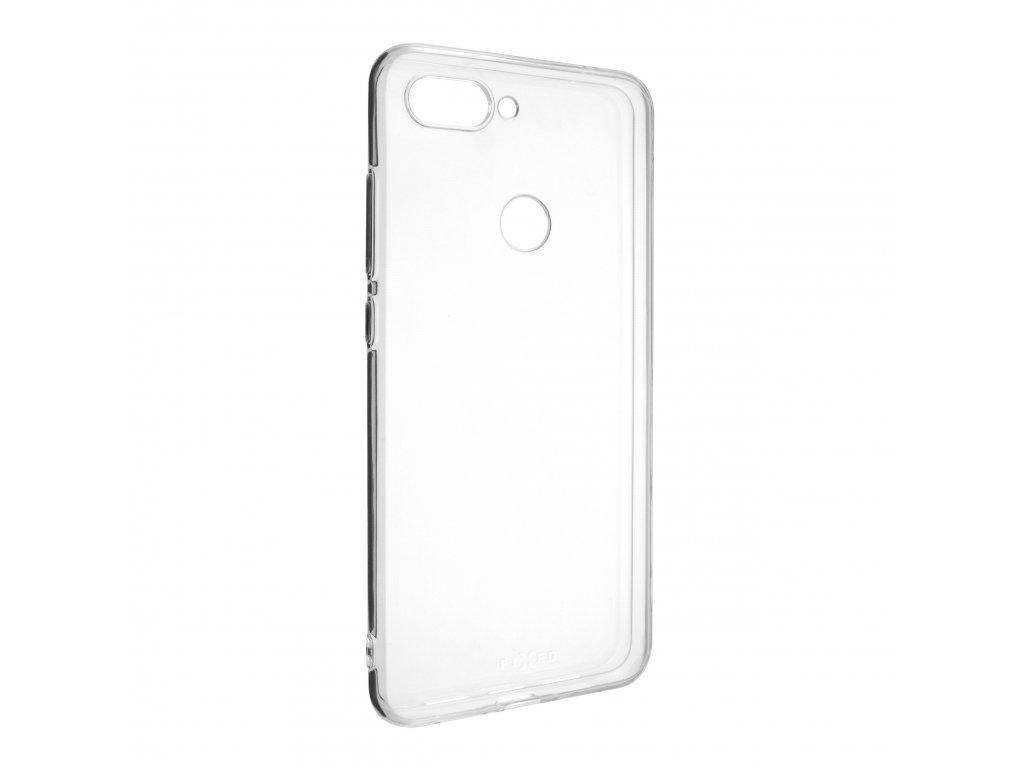 TPU gelové pouzdro FIXED pro Xiaomi Mi8 Lite, čiré