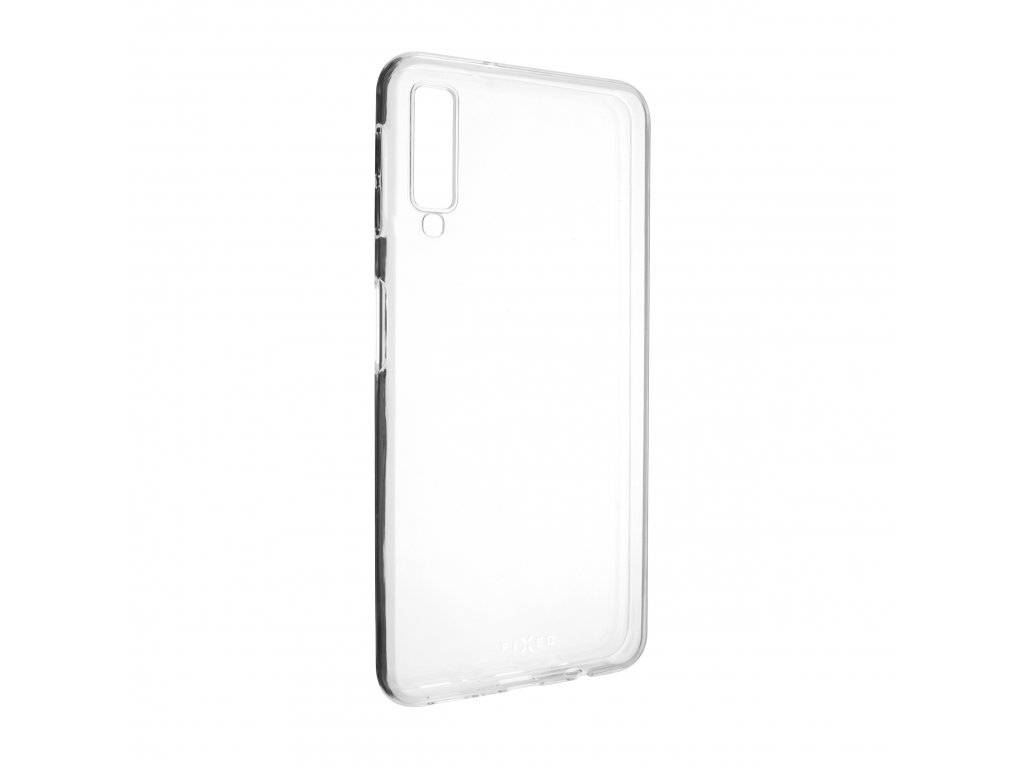TPU gelové pouzdro FIXED pro Samsung Galaxy A7 (2018), čiré