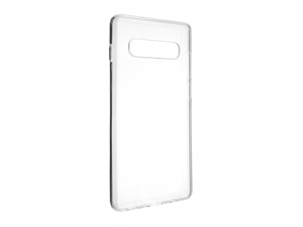 TPU gelové pouzdro FIXED pro Samsung Galaxy S10+, čiré