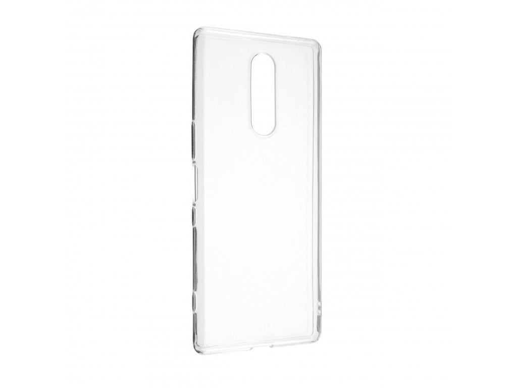 TPU gelové pouzdro FIXED pro Sony Xperia 1, čiré