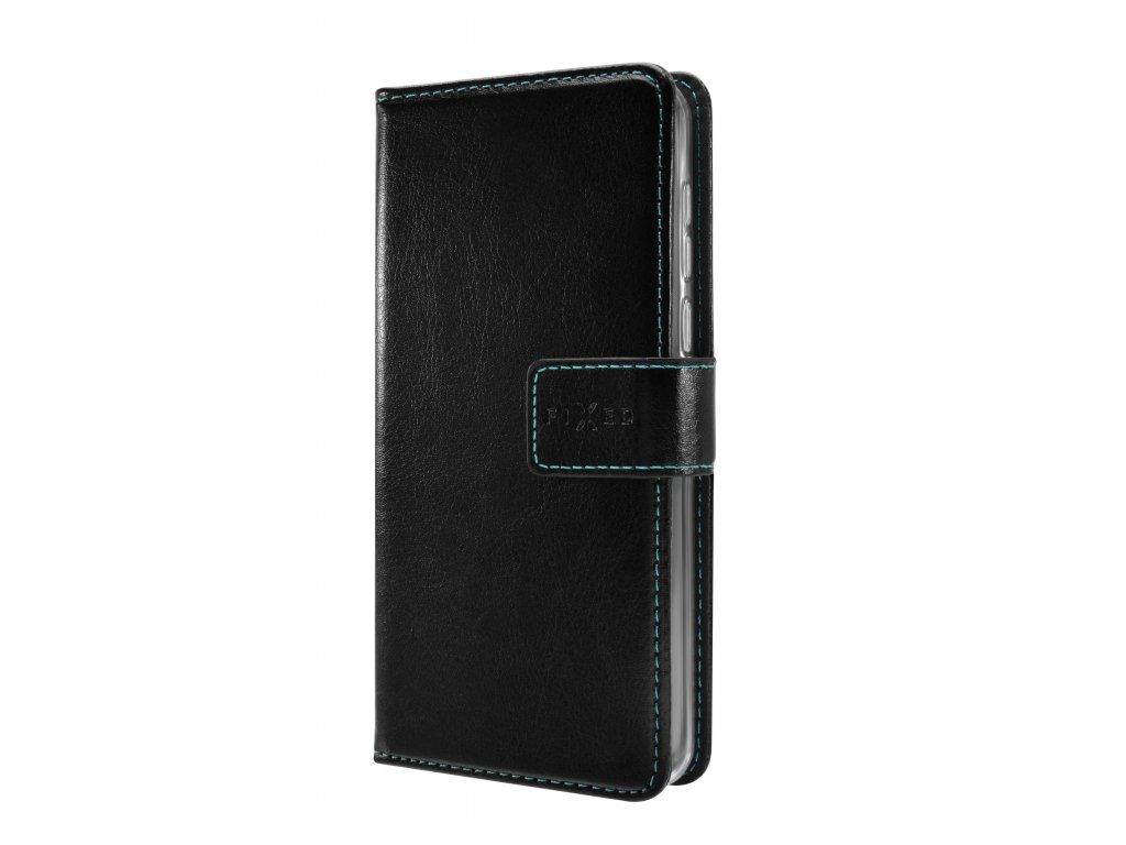 Pouzdro typu kniha FIXED Opus pro Huawei P30, černé