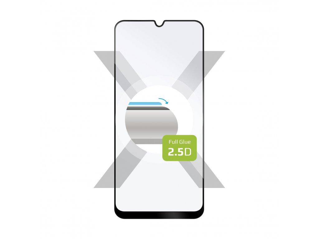 Ochranné tvrzené sklo FIXED Full-Cover pro Samsung Galaxy A50/A50s/A30s, lepení přes celý displej, černé