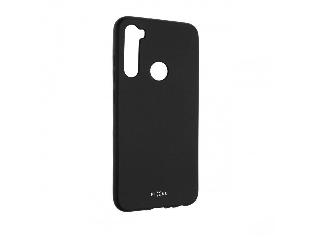 Zadní pogumovaný kryt FIXED Story pro Xiaomi Redmi Note 8T, černý