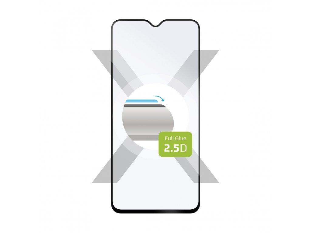 Ochranné tvrzené sklo FIXED Full-Cover pro Xiaomi Redmi Note 8 Pro, lepení přes celý displej, černé