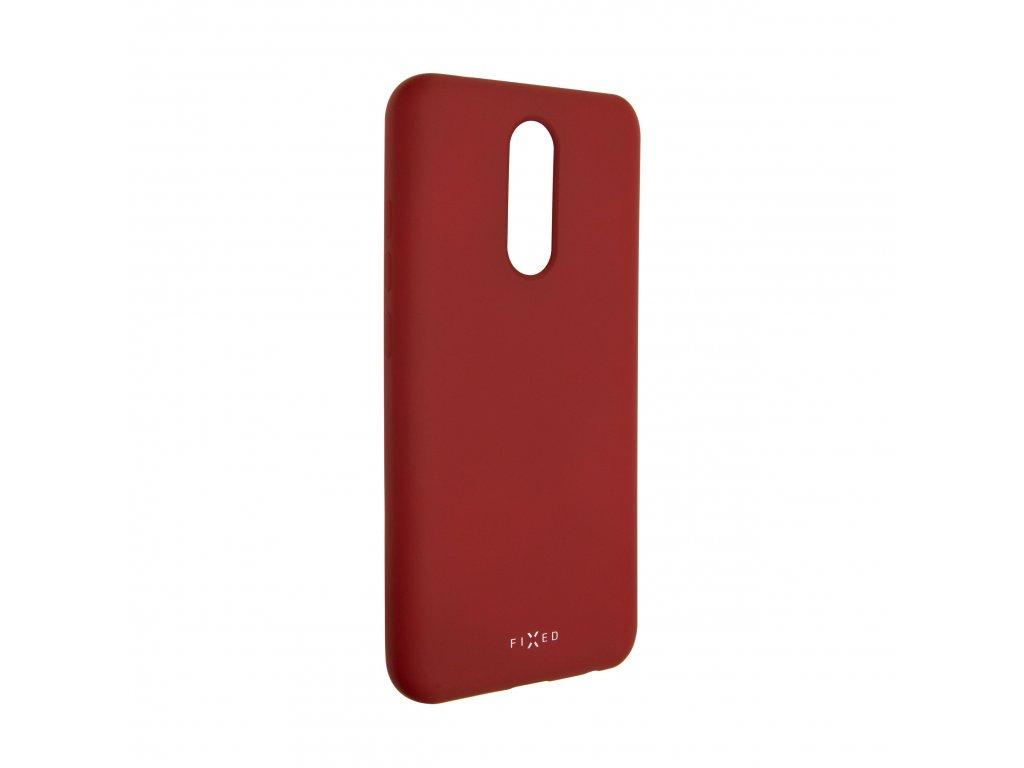 Zadní pogumovaný kryt FIXED Story pro Xiaomi Redmi 8/8A, červený