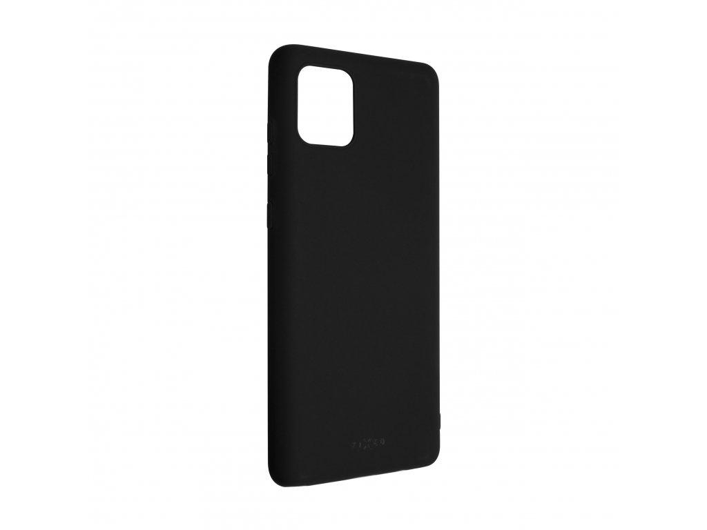 Zadní pogumovaný kryt FIXED Story pro Samsung Galaxy Note 10 Lite, černý