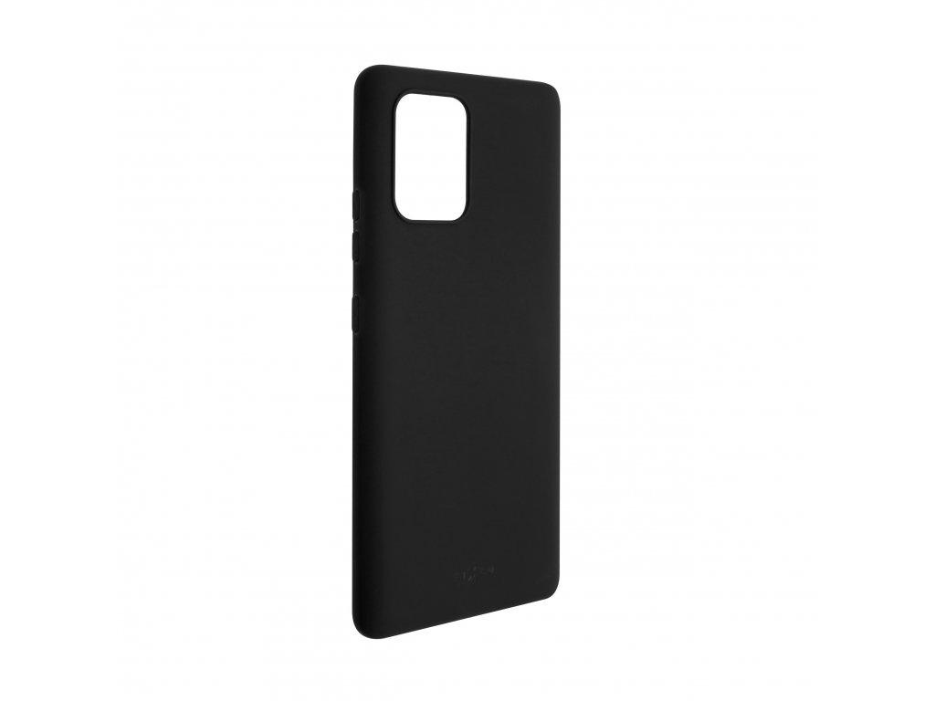 Zadní pogumovaný kryt FIXED Story pro Samsung Galaxy S10 Lite, černý