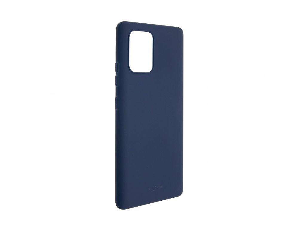 Zadní pogumovaný kryt FIXED Story pro Samsung Galaxy S10 Lite, modrý