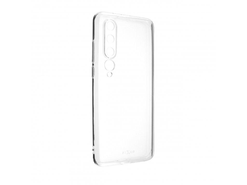 TPU gelové pouzdro FIXED pro Xiaomi Mi10, čiré