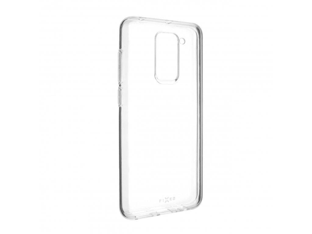 TPU gelové pouzdro FIXED pro Xiaomi Redmi Note 9, čiré