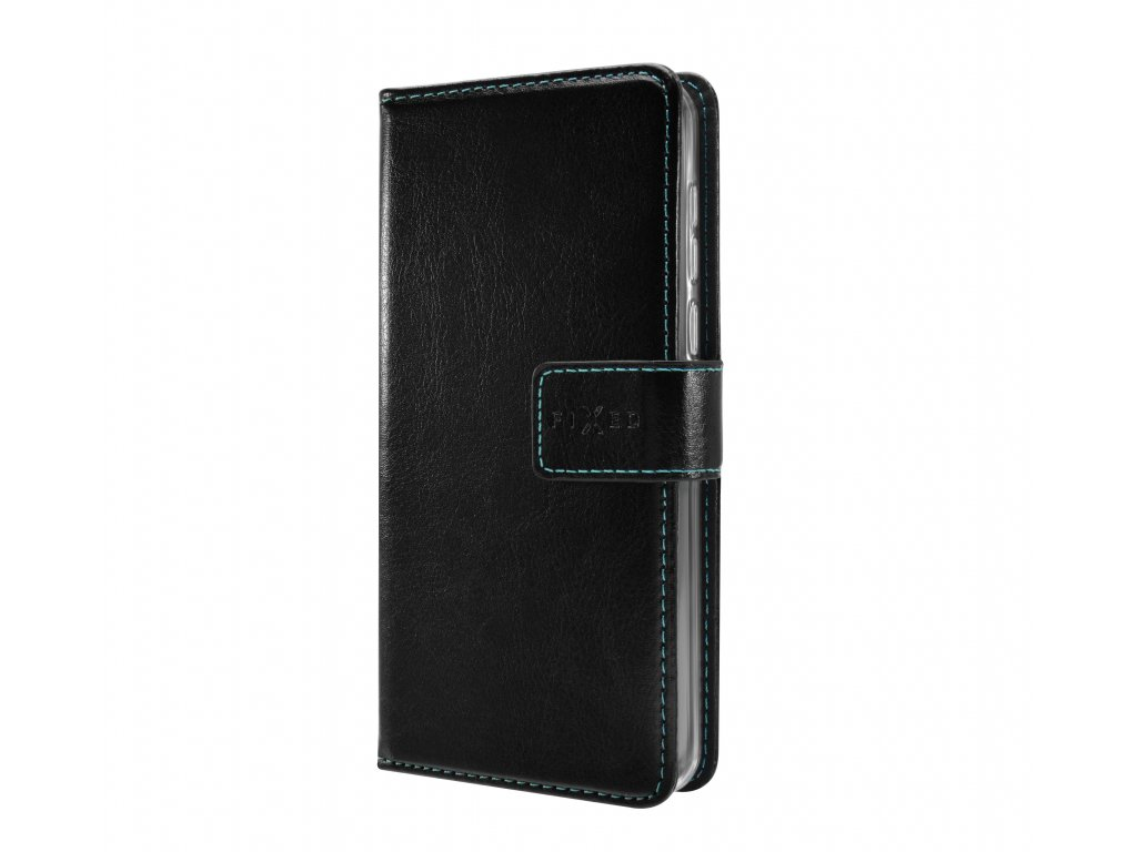 Pouzdro typu kniha FIXED Opus pro Samsung Galaxy A21s, černé