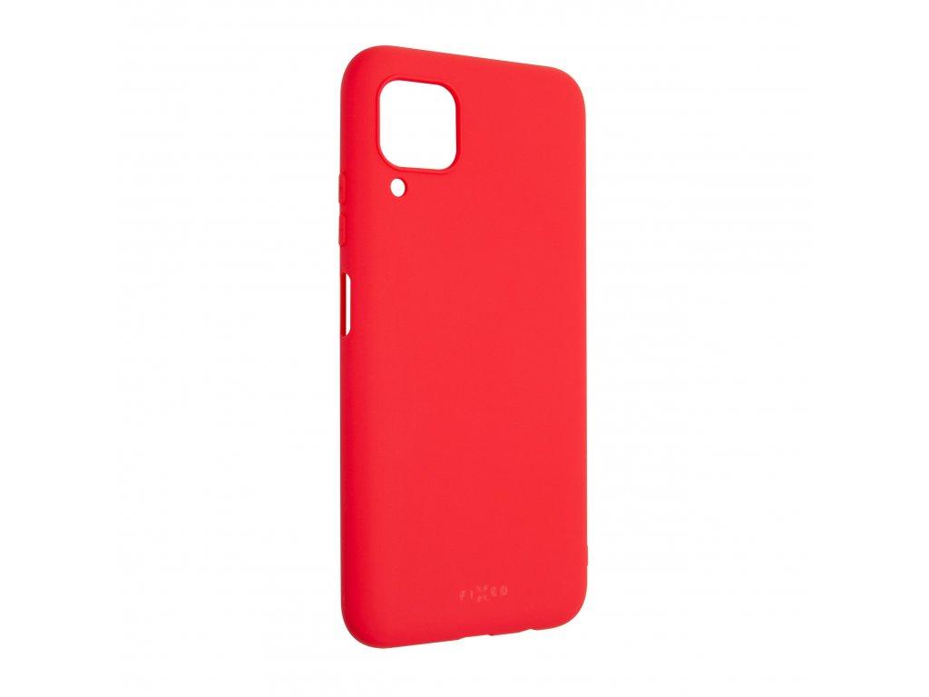 Zadní pogumovaný kryt FIXED Story pro Huawei P40 Lite, červený