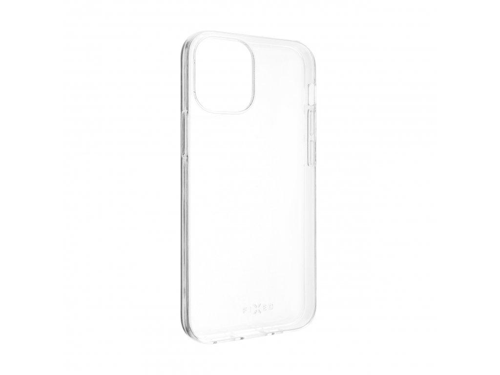 TPU gelové pouzdro FIXED pro Apple iPhone 12, čiré