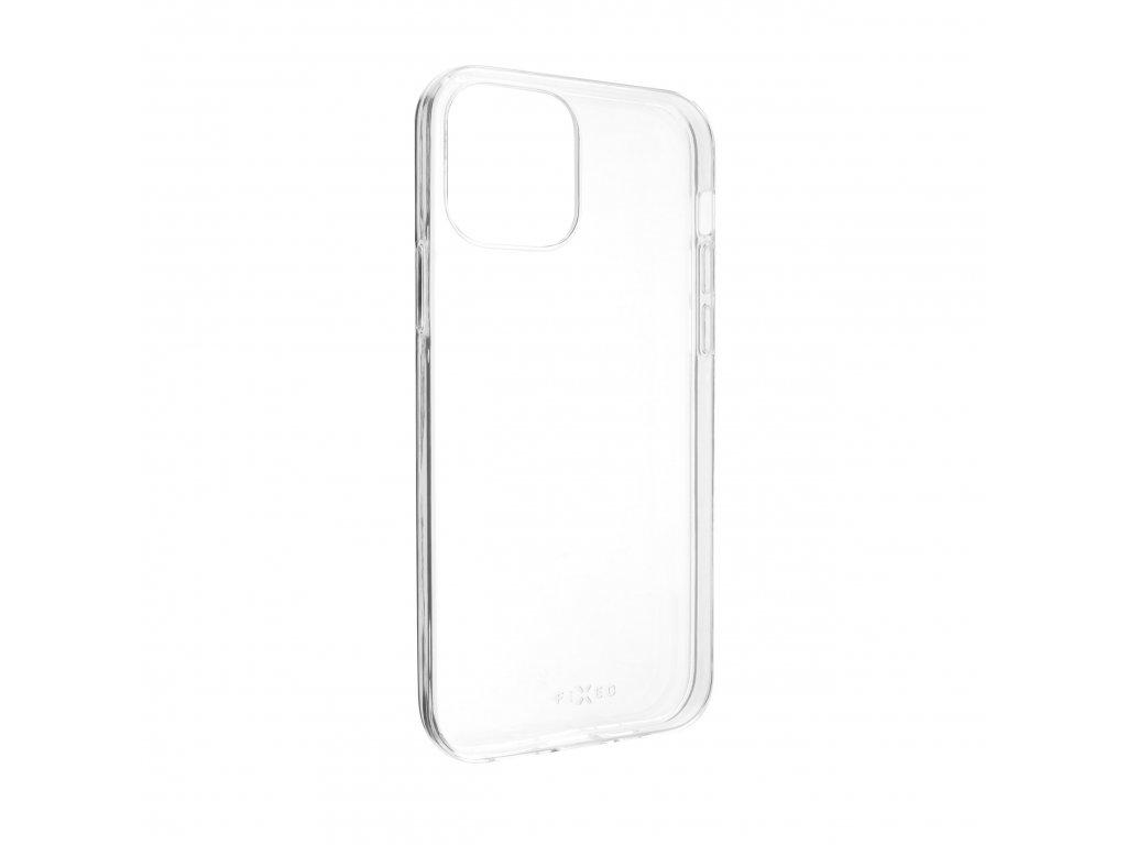 TPU gelové pouzdro FIXED pro Apple iPhone 12 Max/12 Pro, čiré