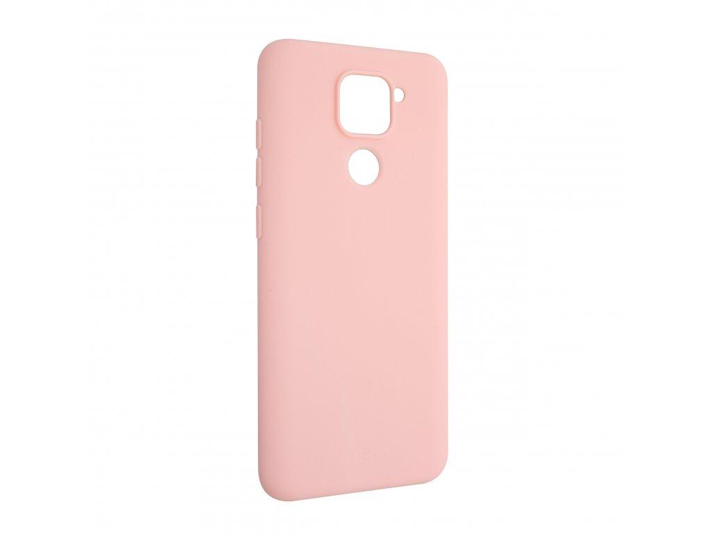 Zadní pogumovaný kryt FIXED Story pro Xiaomi Redmi Note 9, růžový