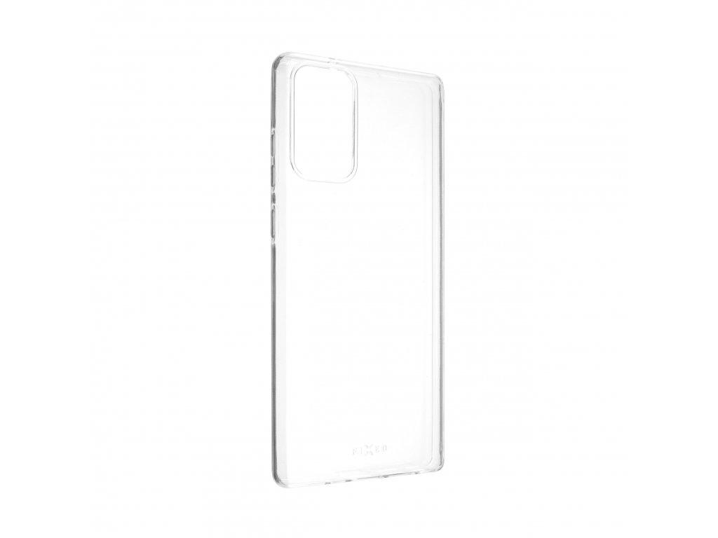 TPU gelové pouzdro FIXED pro Samsung Galaxy Note 20, čiré
