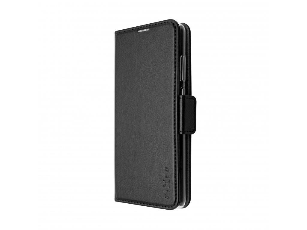 Pouzdro typu kniha FIXED Opus New Edition pro Apple iPhone 12 Max/12 Pro, černé