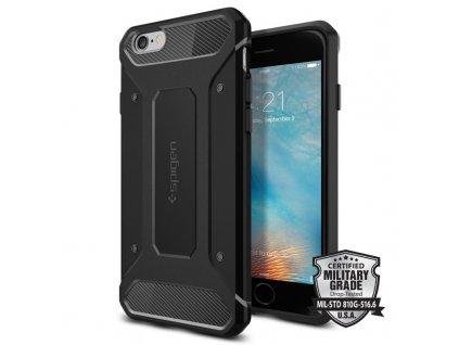 Spigen Rugged Armor, black - iPhone 6/6s