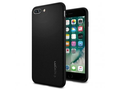Spigen Liquid Air, black - iPhone 8+/7+