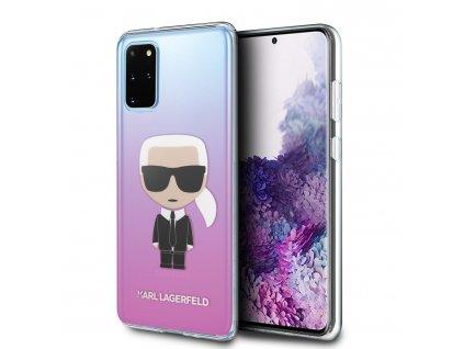 Karl Lagerfeld Degrade Kryt pro Samsung Galaxy S20+ Pink