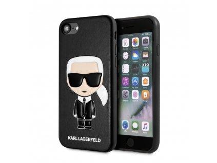 Karl Lagerfeld Full Body Iconic Kryt pro iPhone 8/SE2020 Black