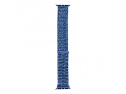 Látkový Řemínek pro iWatch 1/2/3/4/5/6/SE 42/44mm Blue