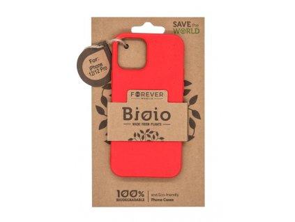"""Zadní kryt Forever Bioio pro Apple iPhone 12/iPhone 12 Pro (6.1"""") červený"""