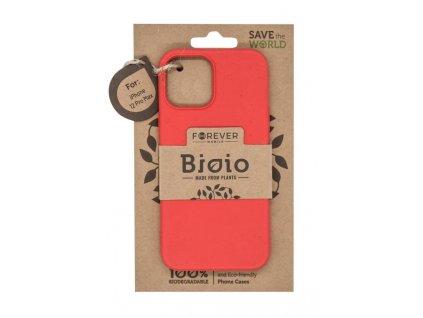 """Zadní kryt Forever Bioio pro Apple iPhone 12 Pro Max (6,7"""") červený"""