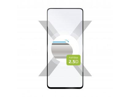 Ochranné tvrzené sklo FIXED Full-Cover pro Realme 7, lepení přes celý displej, černé