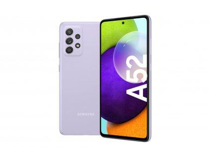 A52 LTE violet FrontBack