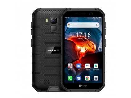 UleFone Armor X7 PRO DS 4+32GB gsm tel. Black