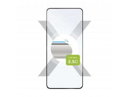 Ochranné tvrzené sklo FIXED Full-Cover pro OnePlus 9, lepení přes celý displej, černé