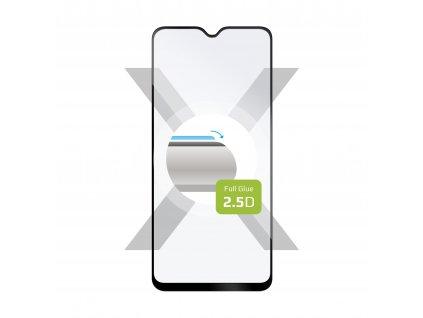 Ochranné tvrzené sklo FIXED Full-Cover pro Xiaomi Poco M3, lepení přes celý displej, černé