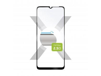 Ochranné tvrzené sklo FIXED Full-Cover pro Samsung Galaxy A32 5G, lepení přes celý displej, černé