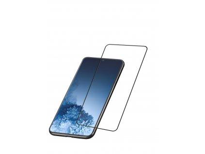 Ochranné tvrzené sklo pro celý displej Cellularline Capsule pro Samsung Galaxy S21