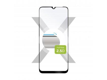 Ochranné tvrzené sklo FIXED Full-Cover pro Samsung Galaxy A22 5G, lepení přes celý displej, černé