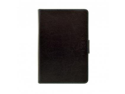 """Pouzdro pro 10,1"""" tablety FIXED Novel Tab se stojánkem, PU kůže, černé"""