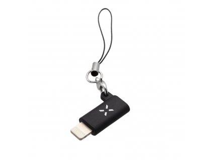 Redukce FIXED Link z USB-C na Lightning, černá