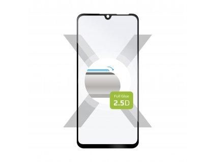 Ochranné tvrzené sklo FIXED Full-Cover pro Huawei P30 Lite, lepení přes celý displej, černé