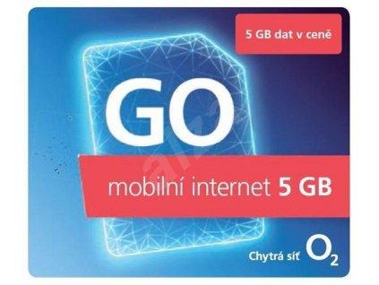 Předplacená SIM karta GO mobilní internet 5 GB