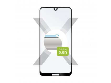 Ochranné tvrzené sklo FIXED Full-Cover pro Nokia 2.2, lepení přes celý displej, černé