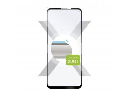 Ochranné tvrzené sklo FIXED Full-Cover pro Motorola One Vision/One Action, lepení přes celý displej, černé