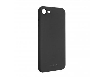 Zadní pogumovaný kryt FIXED Story pro Apple iPhone 7/8/SE (2020), černý