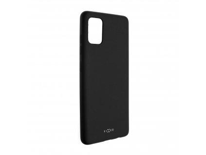 Zadní pogumovaný kryt FIXED Story pro Samsung Galaxy A51, černý
